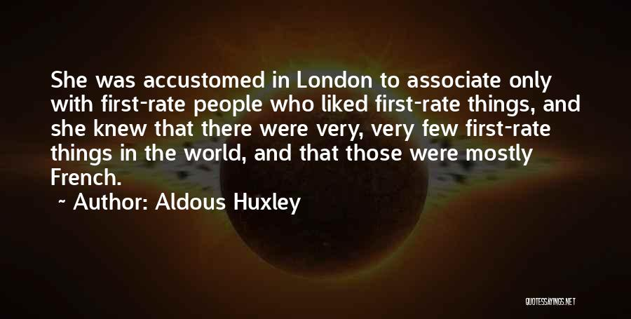 Top Most Liked Quotes By Aldous Huxley