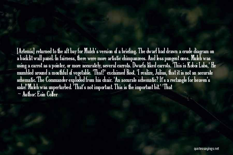 Top Most Liked Quotes By Eoin Colfer