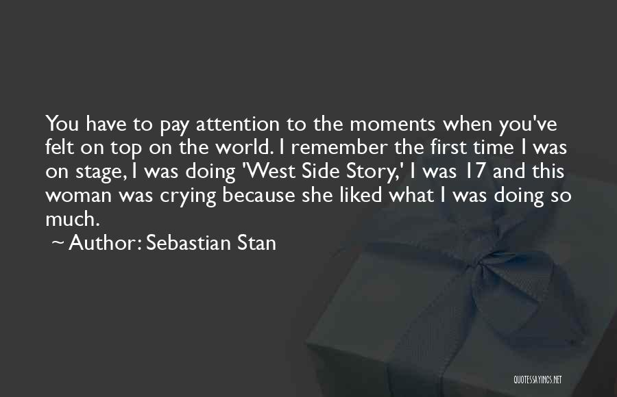 Top Most Liked Quotes By Sebastian Stan