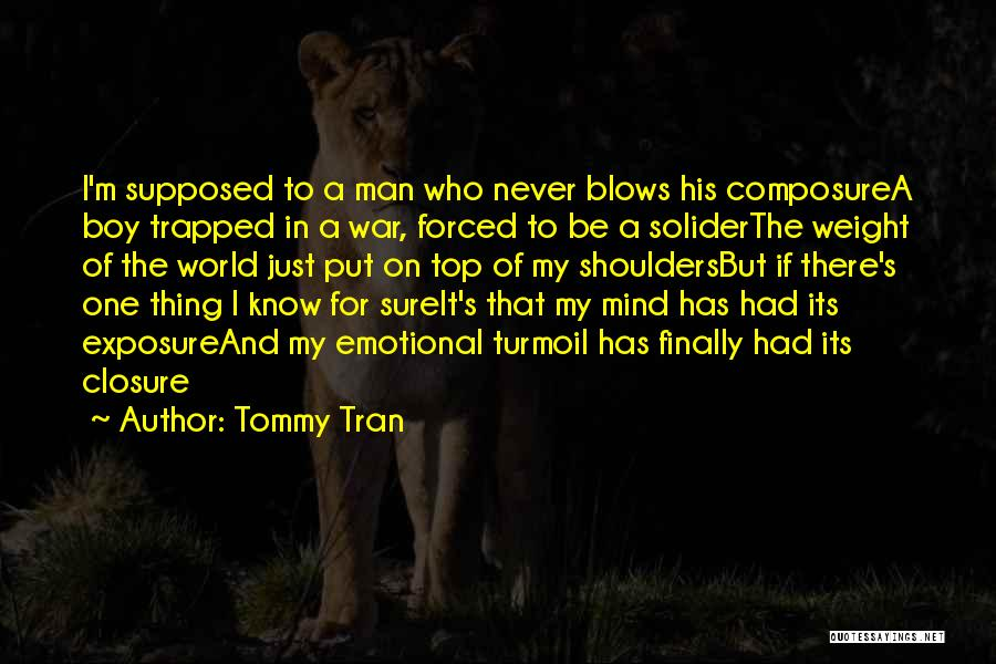 Top Most Sad Quotes By Tommy Tran