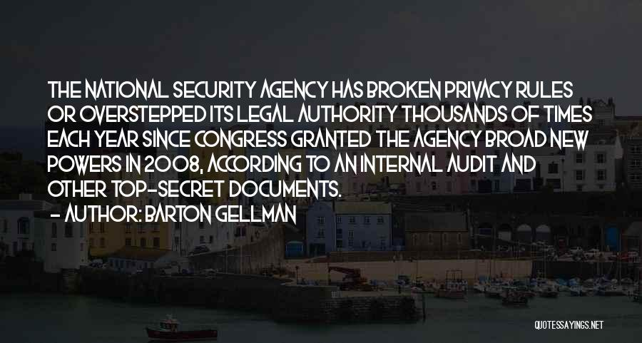 Top Secret Quotes By Barton Gellman