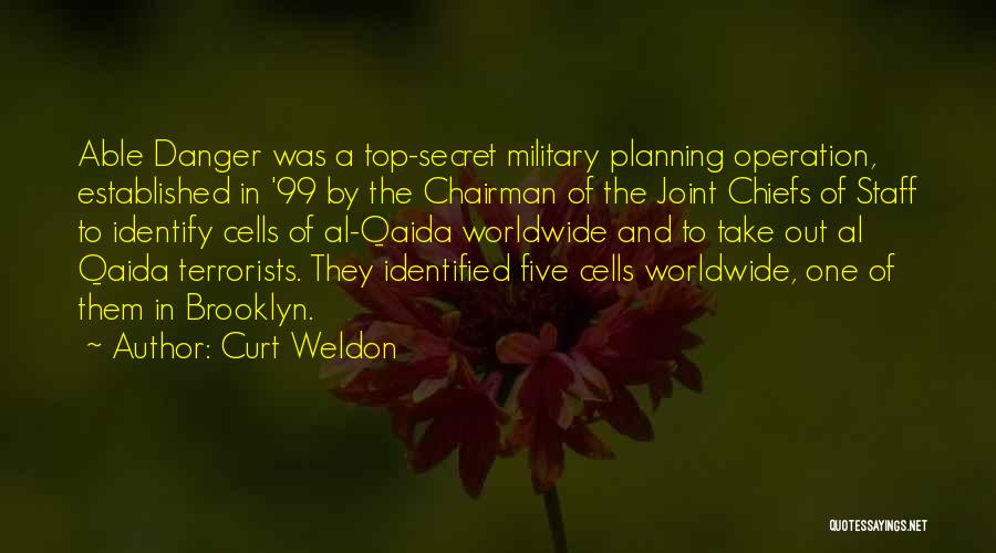 Top Secret Quotes By Curt Weldon