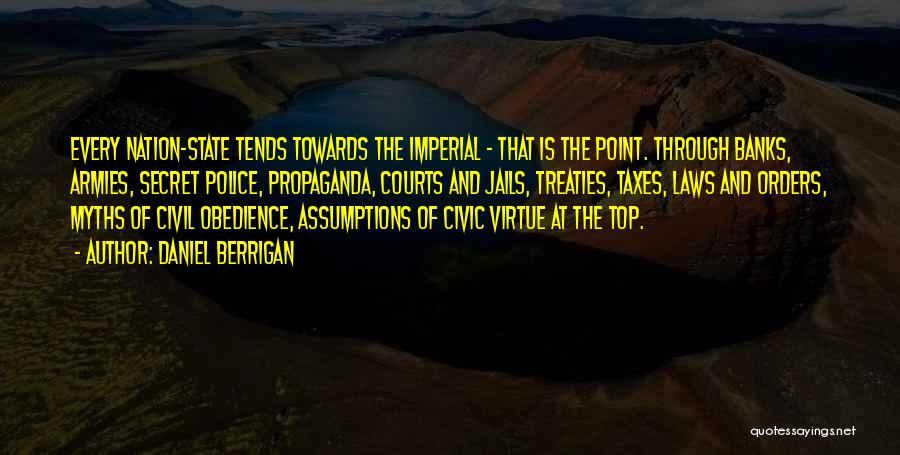 Top Secret Quotes By Daniel Berrigan