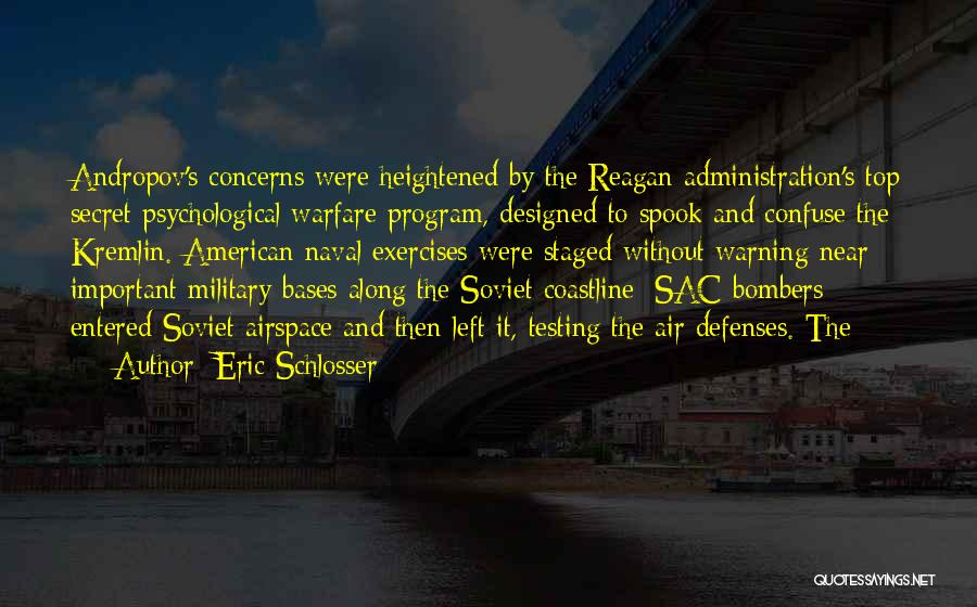 Top Secret Quotes By Eric Schlosser
