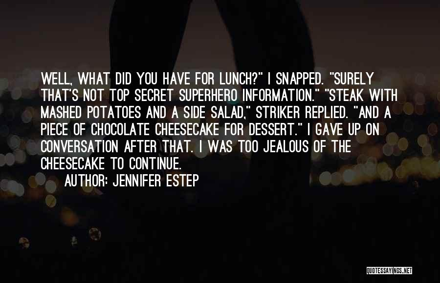 Top Secret Quotes By Jennifer Estep