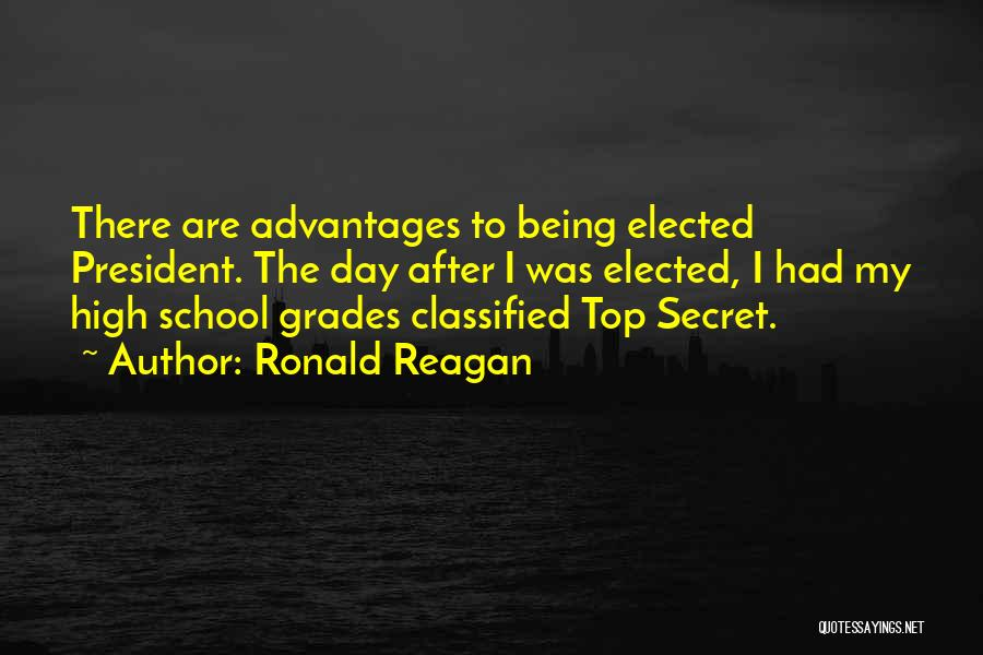 Top Secret Quotes By Ronald Reagan