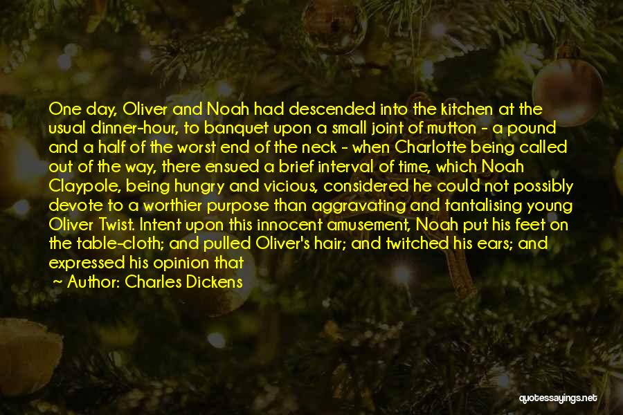 Topics Quotes By Charles Dickens
