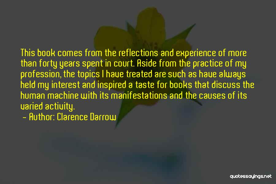 Topics Quotes By Clarence Darrow