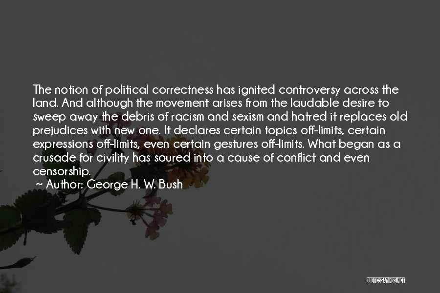 Topics Quotes By George H. W. Bush