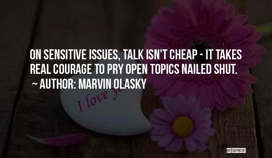 Topics Quotes By Marvin Olasky