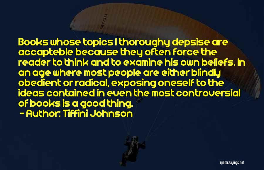 Topics Quotes By Tiffini Johnson