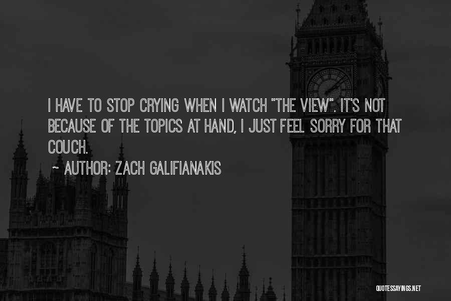 Topics Quotes By Zach Galifianakis