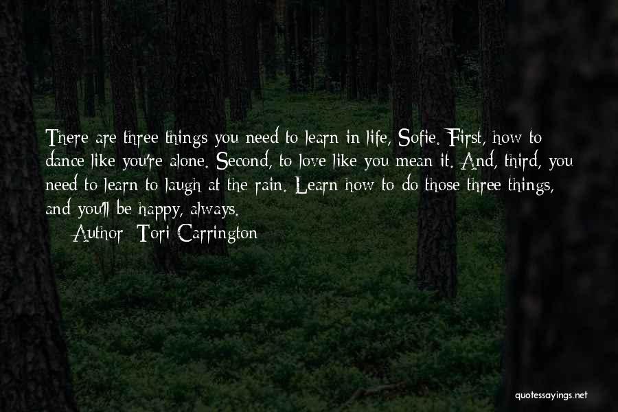 Tori Carrington Quotes 373384