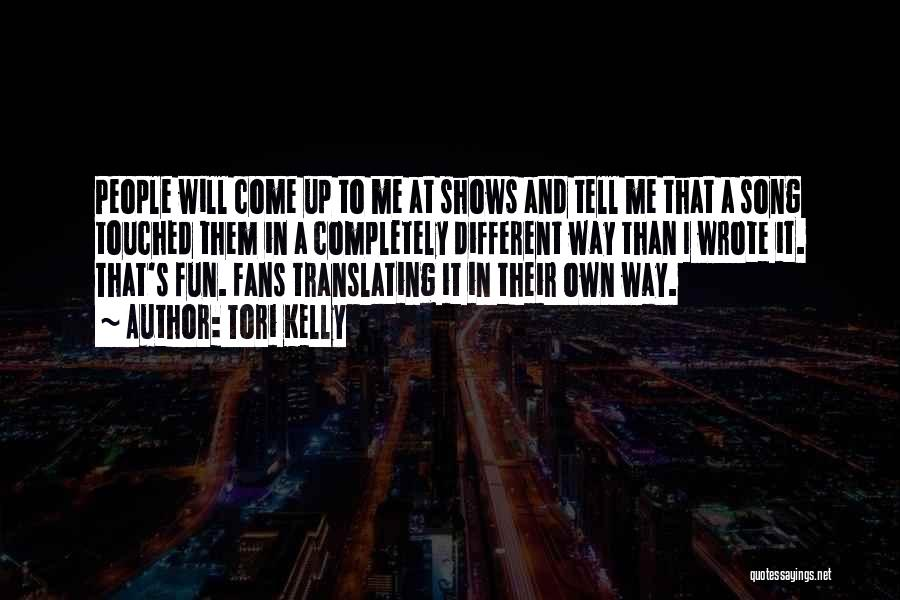 Tori Kelly Quotes 956003