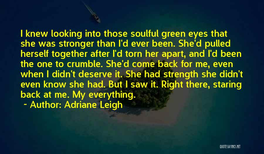 Torn Apart Quotes By Adriane Leigh