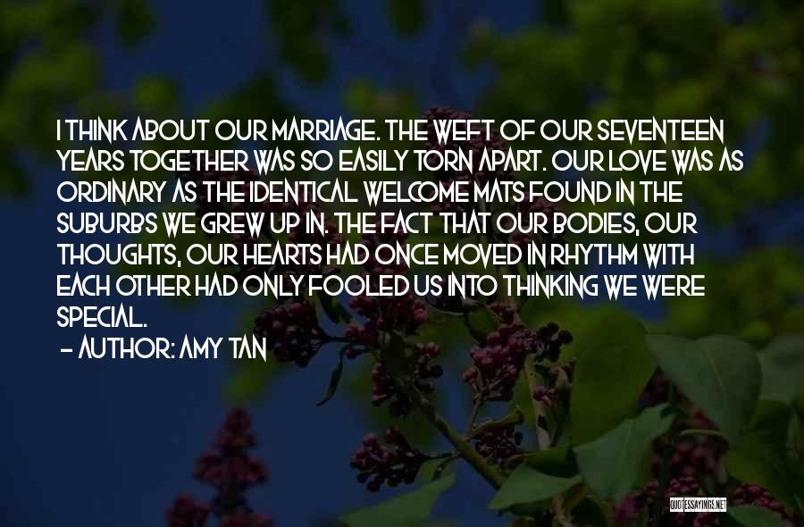 Torn Apart Quotes By Amy Tan