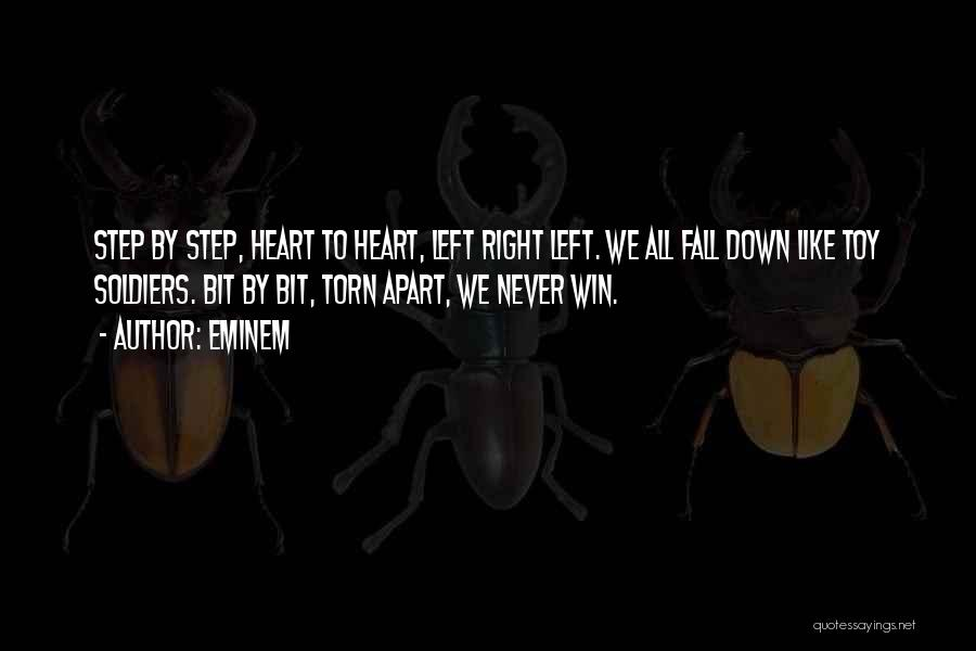 Torn Apart Quotes By Eminem