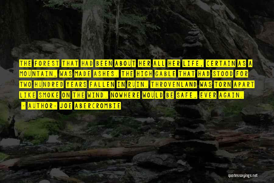 Torn Apart Quotes By Joe Abercrombie