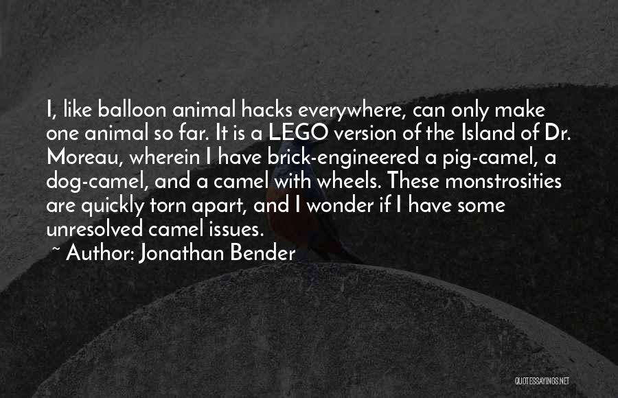 Torn Apart Quotes By Jonathan Bender