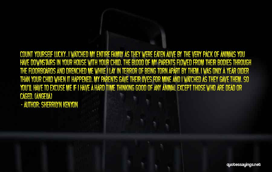 Torn Apart Quotes By Sherrilyn Kenyon