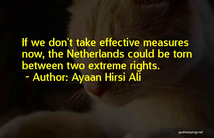 Torn Between Two Quotes By Ayaan Hirsi Ali