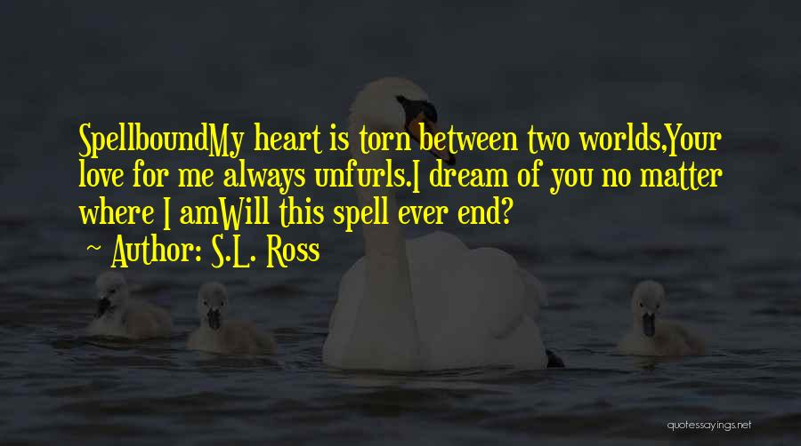 Torn Between Two Quotes By S.L. Ross