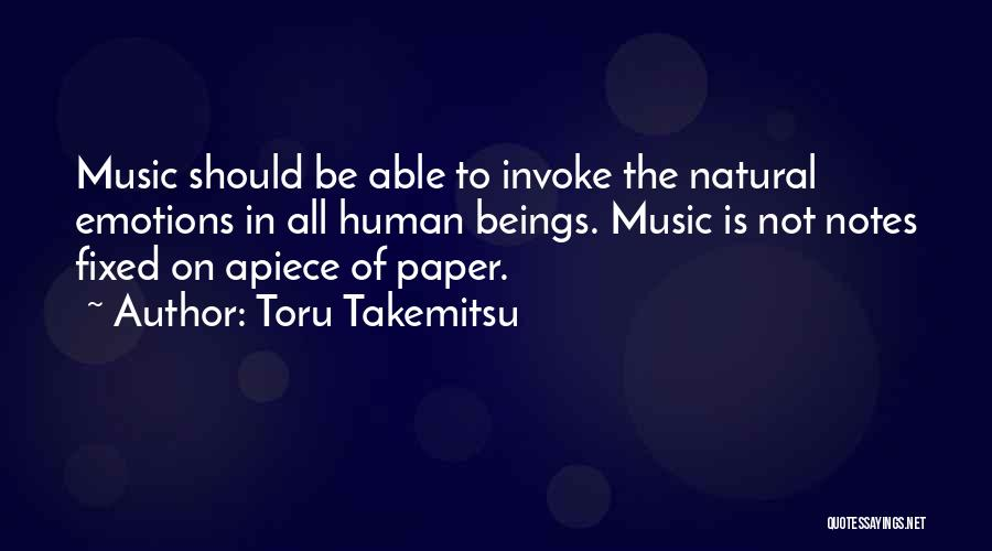 Toru Takemitsu Quotes 1769336