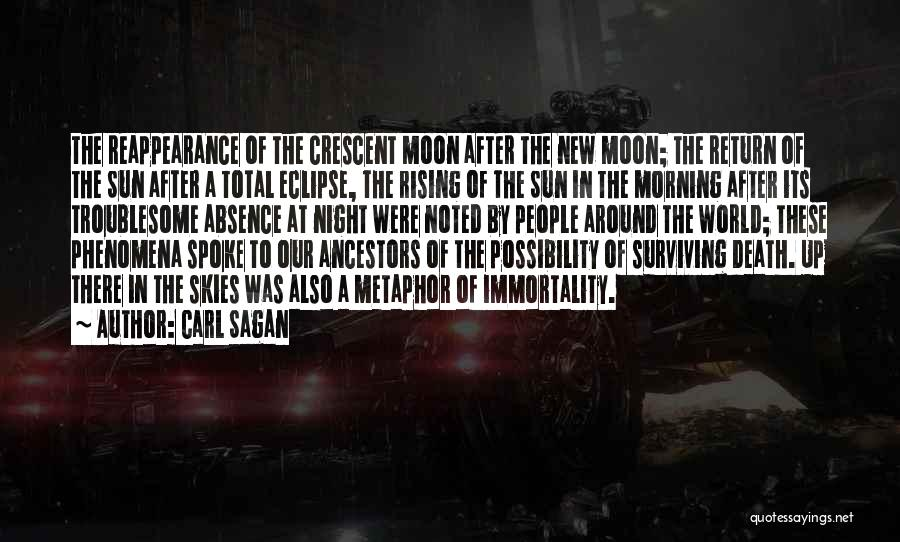 Total Eclipse Quotes By Carl Sagan