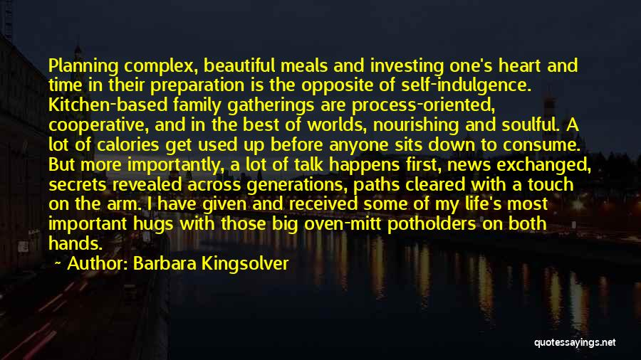 Touch My Family Quotes By Barbara Kingsolver