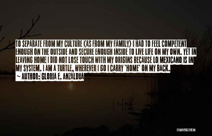 Touch My Family Quotes By Gloria E. Anzaldua