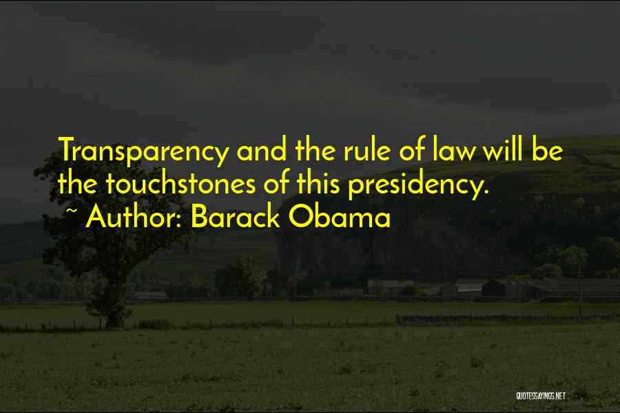 Touchstones Quotes By Barack Obama