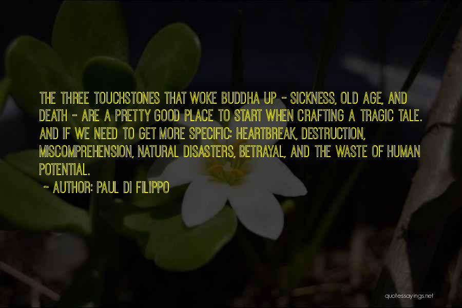 Touchstones Quotes By Paul Di Filippo