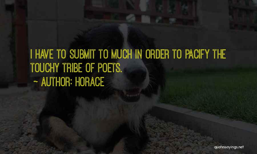 Touchy Quotes By Horace