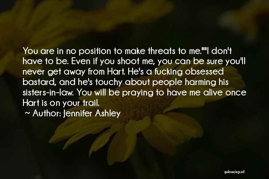 Touchy Quotes By Jennifer Ashley