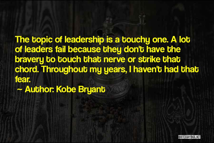 Touchy Quotes By Kobe Bryant