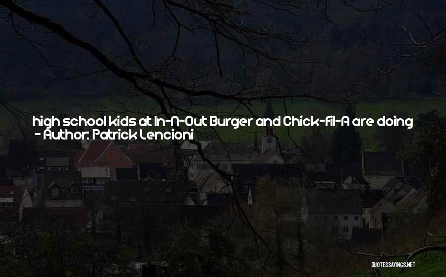 Touchy Quotes By Patrick Lencioni