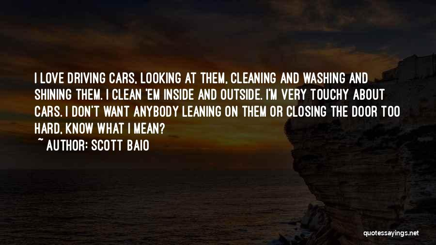 Touchy Quotes By Scott Baio