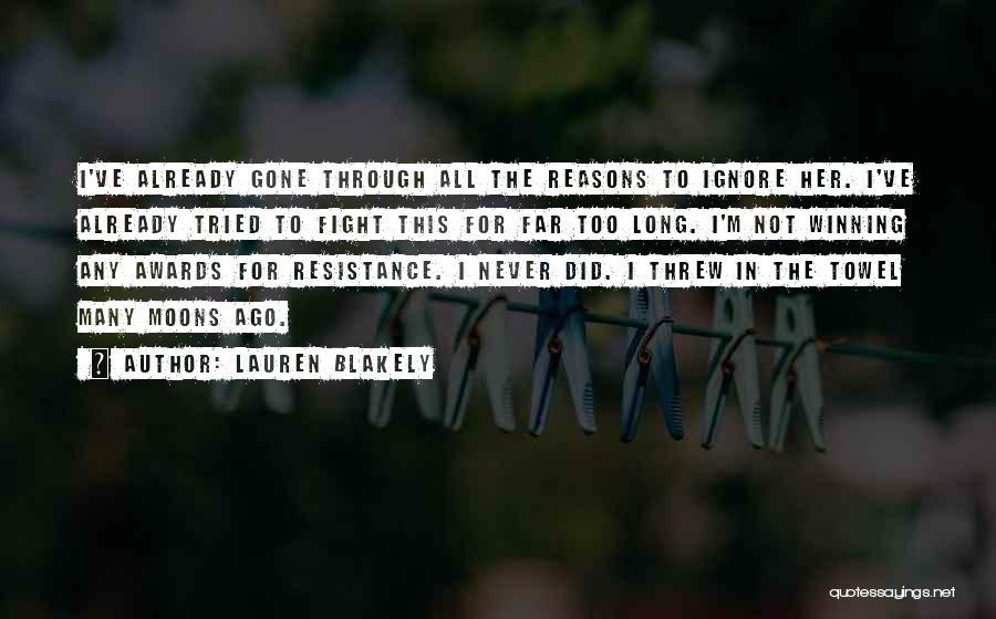 Towel Love Quotes By Lauren Blakely