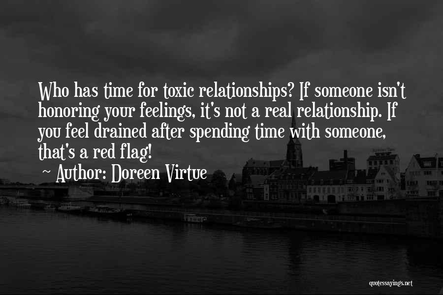Toxic Relationships Quotes By Doreen Virtue