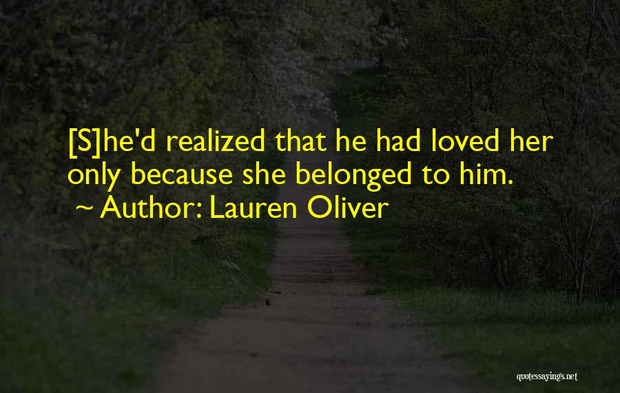Toxic Relationships Quotes By Lauren Oliver