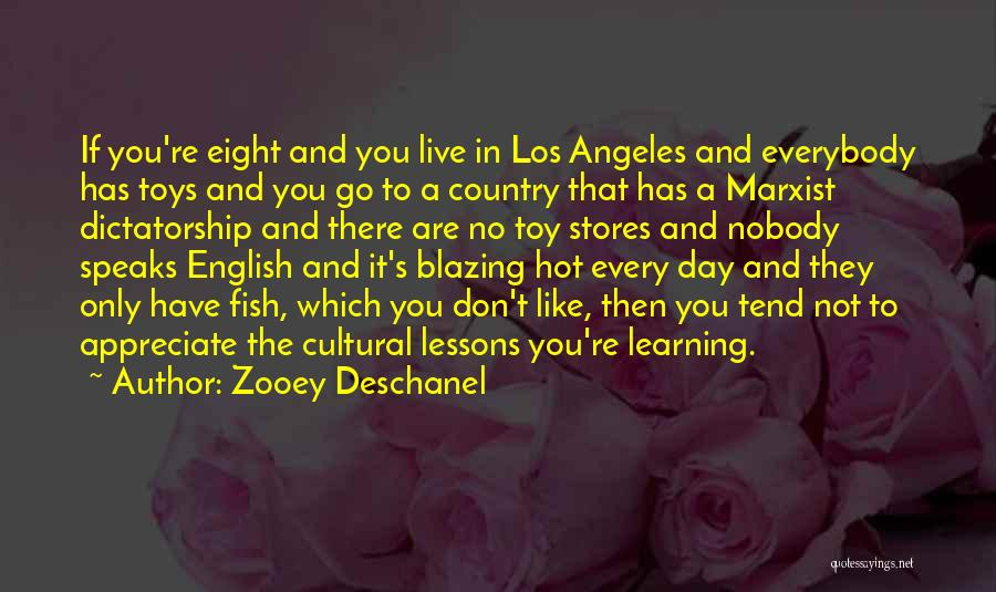 Toy Stores Quotes By Zooey Deschanel
