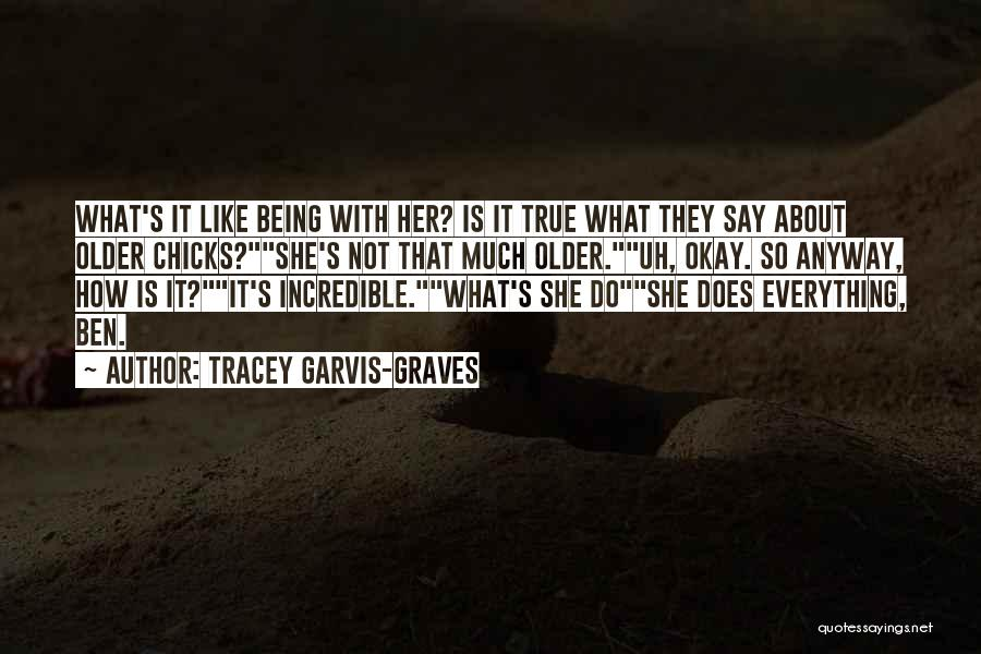 Tracey Garvis-Graves Quotes 156653