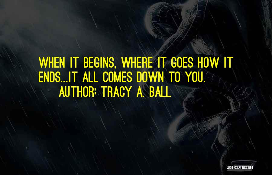 Tracy A. Ball Quotes 955115