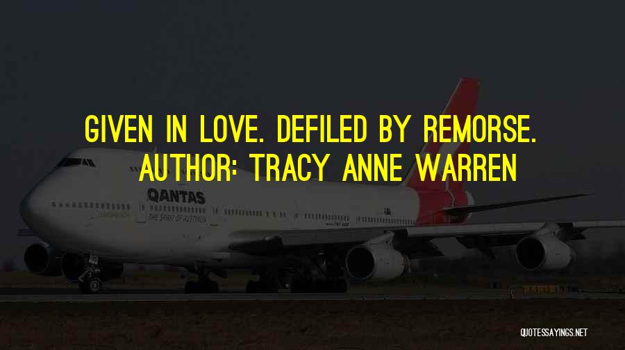 Tracy Anne Warren Quotes 729070