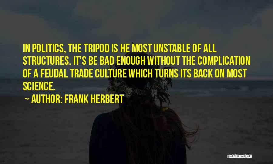 Trade In Quotes By Frank Herbert