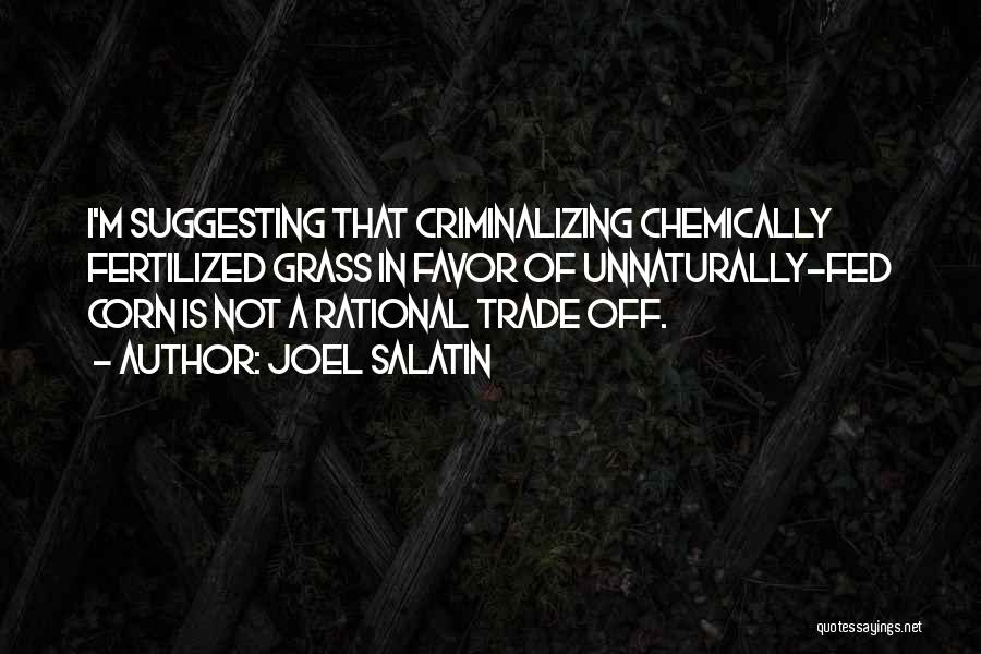Trade In Quotes By Joel Salatin