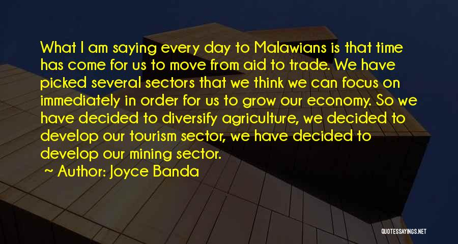 Trade In Quotes By Joyce Banda