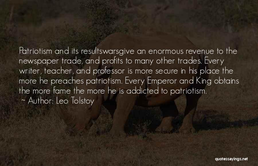 Trade In Quotes By Leo Tolstoy