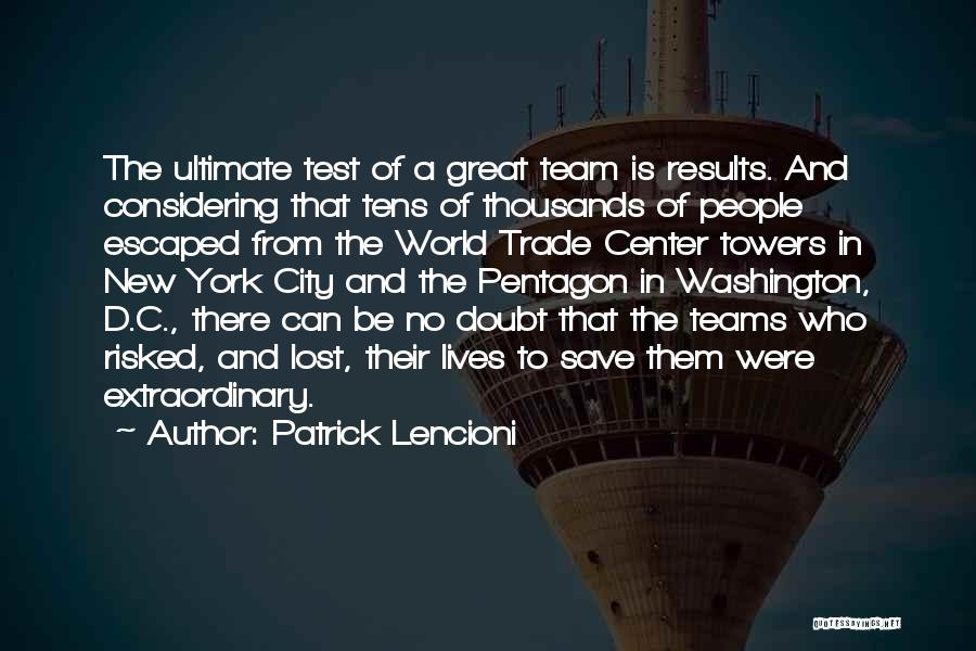 Trade In Quotes By Patrick Lencioni