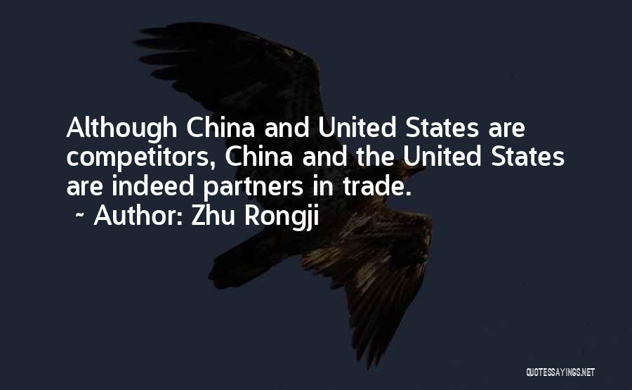 Trade In Quotes By Zhu Rongji